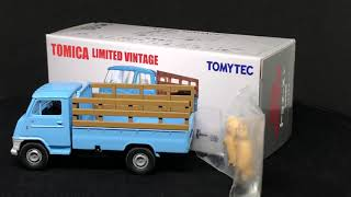 Mobile Garage Review: Tomica Limited Vintage LV-N72b Toyota Toyoace Cattle Truck