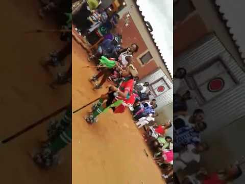 Sangoma  Dance, Gogo Mkhonto & Gogo Salaminah