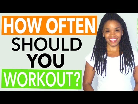 How Frequently You Need To Exercise Whenever You re Attempting to lose weight