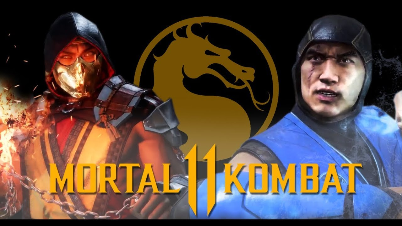 Mortal Kombat 11 Scorpion And Sub Zero Unmasked Tower Gameplay Youtube