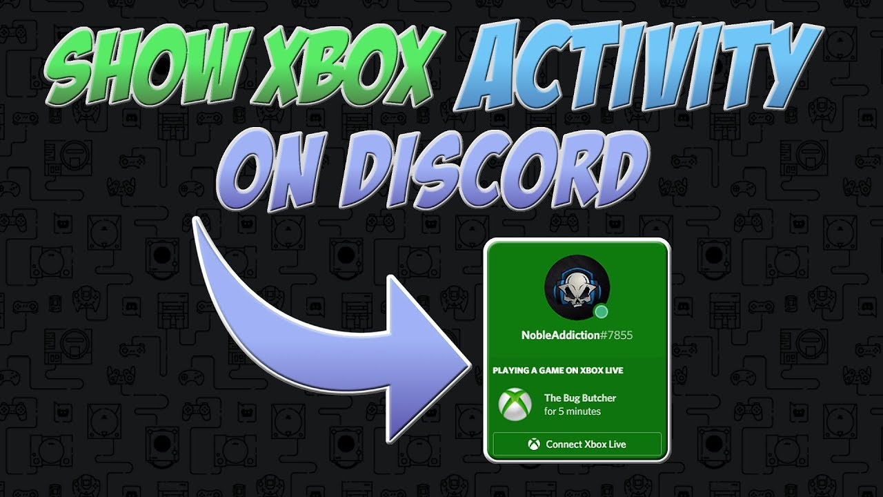 Show Xbox Activity On Discord - A Message From Discord