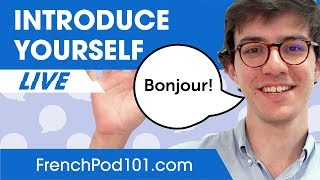 How to INTRODUCE Yourself (Without Sounding Annoying) in French - Learn Basic French