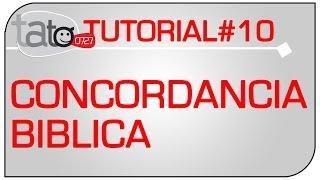 TUTORIAL 01 - DESCARGAR CONCORDANCIA BIBLICA - tato0727