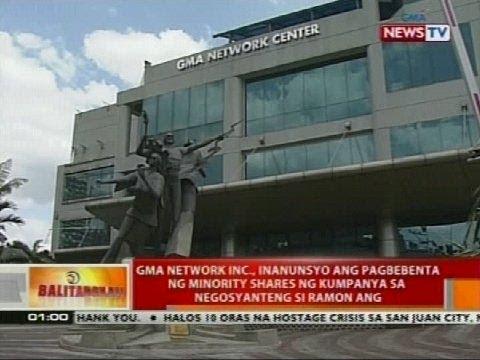 GMA Network Inc., inanunsyo ang pagbebenta ng minority shares ng kumpanya