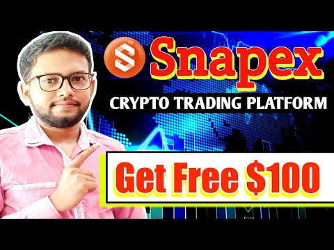 Snapex Crypto Trading Platform Review | Start Crypto Trading in India | Get Free $100 USDT | Hindi