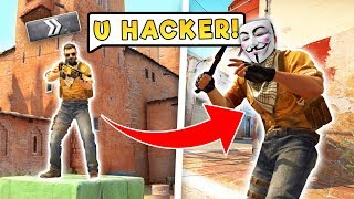 I Pretended to be a *HACKER* In Silver Matchmaking...