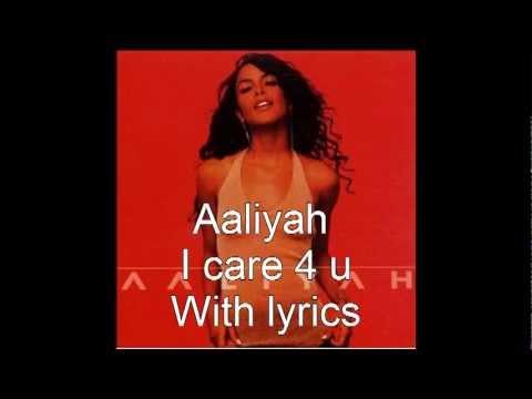 Aaliyah i care 4 u lyrics