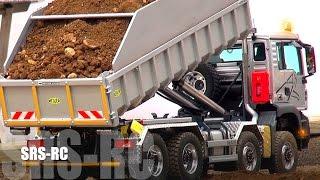 STUNNING RC Truck´s! RC Excavator! RC Wheel Loader´s! MAN! MB! Liebherr! Komatsu! Volvo!