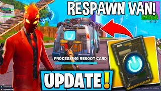 "*NEW* FORTNITE UPDATE! ""Reboot Van"" *NEW* Stretched RES + Free Skins & Emotes! - Fortnite Moments"