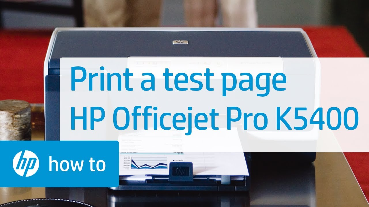 printing a test page hp officejet pro k5400 printer youtube rh youtube com hp officejet pro k5400 manual pdf hp officejet pro k5400 user manual