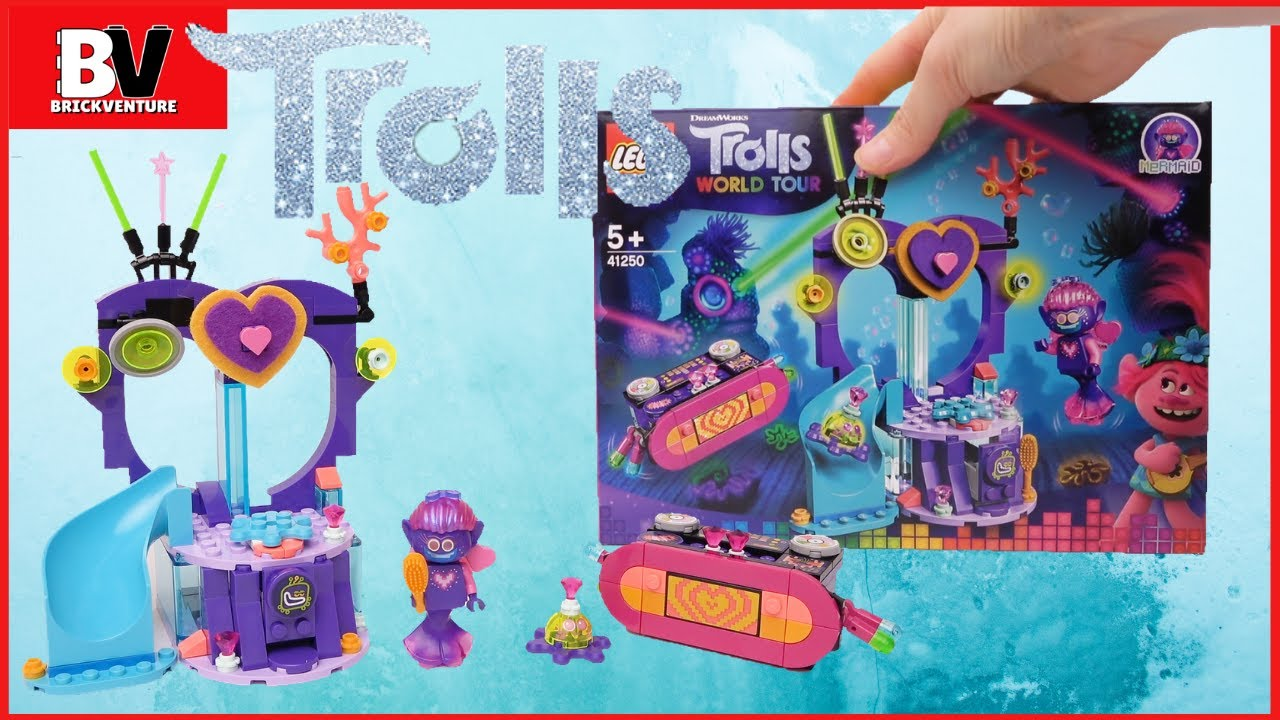LEGO DREAMWORKS Troll World Tour TECHNO Reef Dance Party Building Set 41250
