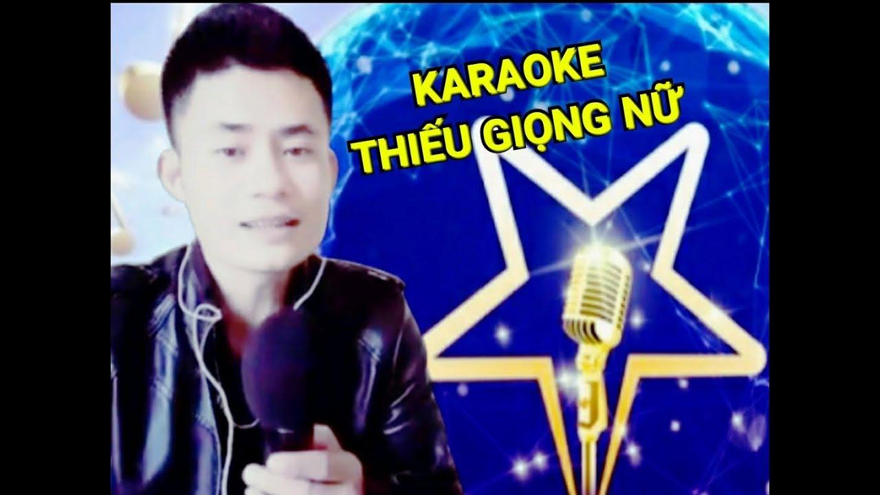 karaoke - Liên khúc -  Thuyền xa bến đỗ - Thiếu giọng nữ
