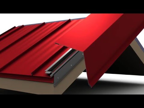How To Install Standing Seam Metal Roofing Box Rake Trim