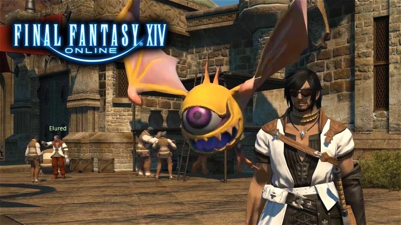 Final Fantasy XIV - Ep 6 - Beady Eye Minion (Lets Play ...