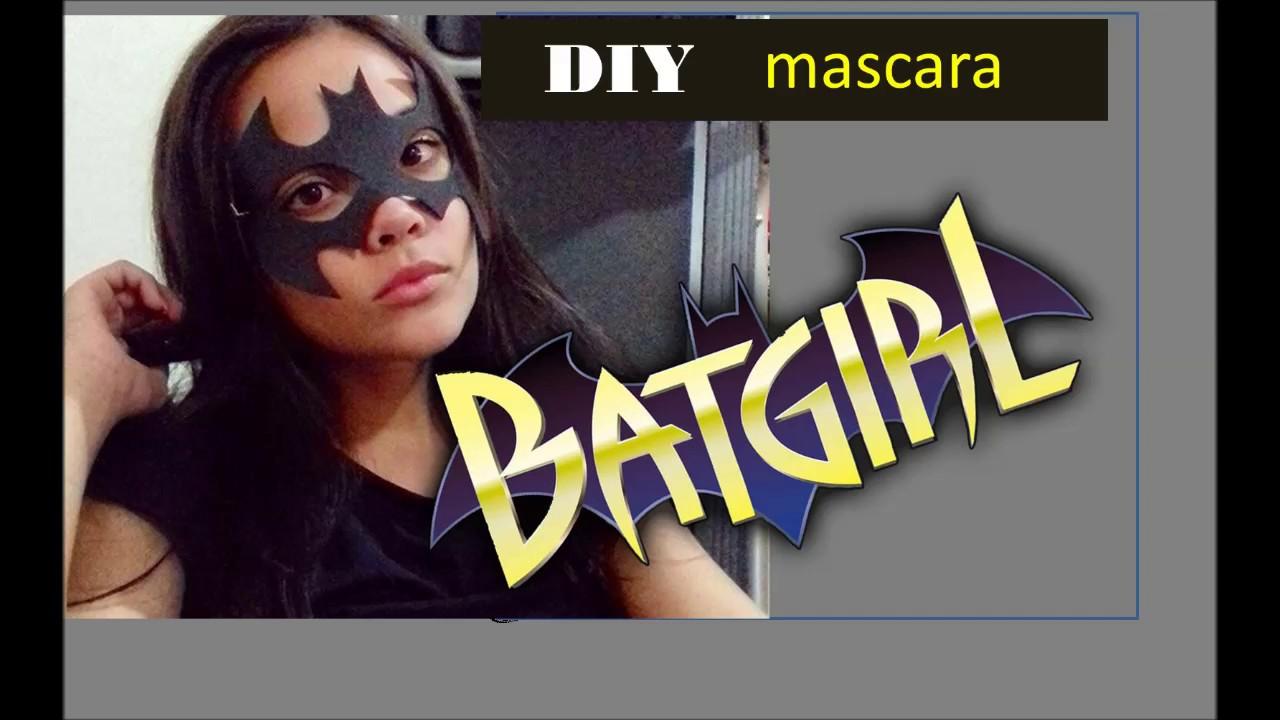 Mascara Da Batgirl Youtube