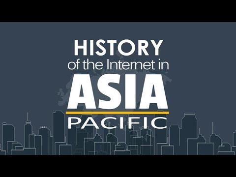 History Internet in Asia & Pacific