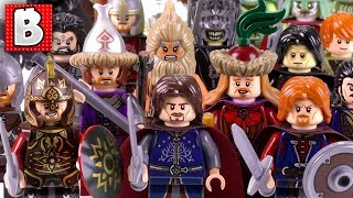Every LEGO Man LOTR Minfigure Ever Made!!! + Rare Theoden