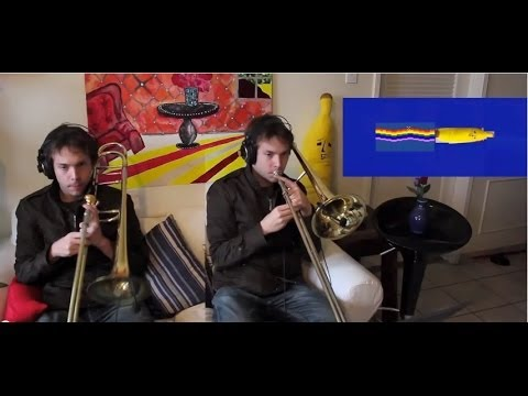Nyan Cat on Trombone