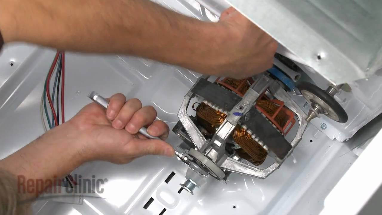 kenmore 80 series dryer belt. whirlpool/ kenmore electric dryer drive motor replacement #279827 - youtube 80 series belt e