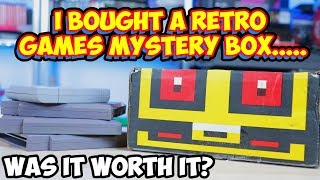 Retro Video Game Mystery Box? Was It Worth It? Retro Game Treasure