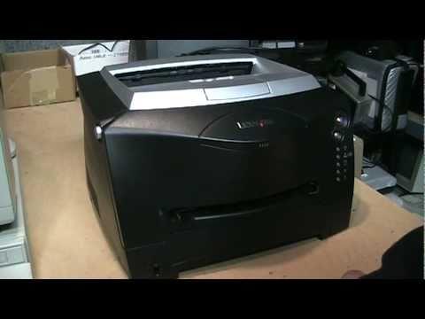 Fixing a free Lexmark laser printer