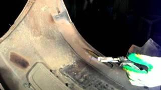 видео ремонт бамперов иркутск