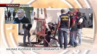 Kaunas ruošiasi priimti šimtą ar daugiau pabėgėlių (tiesiogiai)
