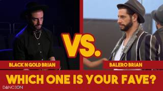 Brian friedman: black n gold vs. balero | undressed
