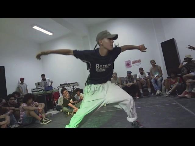 TCHINA vs HAMIDOU ♣ 1vs1 Breaking TOP 16 | Breakreate X Urban Whyz Festival 2018