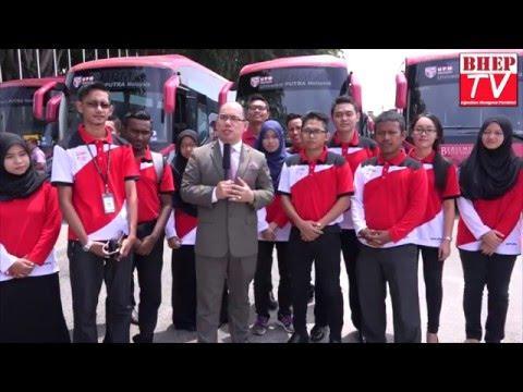 BHEP TV : MAJLIS PELANCARAN BAS BAHARU UPM 2016