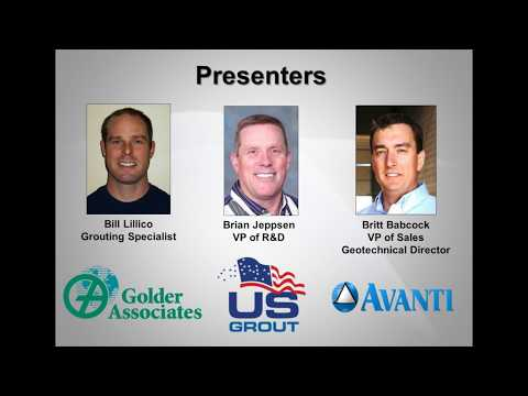 WEBINAR: Injection Grouting for Greater Groundwater Control Before, During, After Tunnel Construc