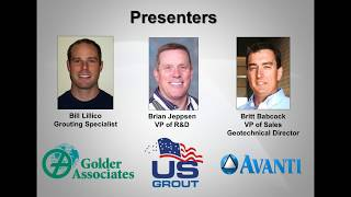 Webinar: Grouting for Greater Groundwater Control Before, During, After Tunnel Construction