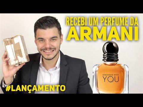 Perfume With You Recebi ArmaniLançamento Um Stronger Da f6bygY7