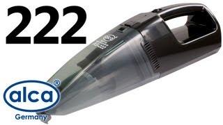 Alca 222 — автопылесос с функцией влажной уборки — видео обзор 130.com.ua