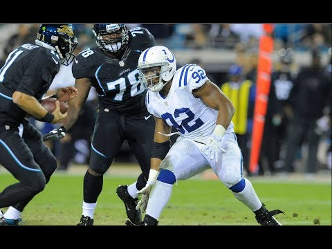 Jerry Hughes Sacks Blaine Gabbert || 92 Days until Kickoff