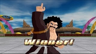 How Mr Satan won the Budokai Tenkaichi tournament Vs Android 18 (Tenkaichi 3 mod)