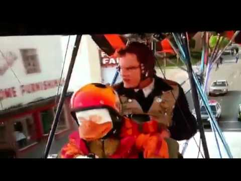 Howard The Duck Movie chase scene in Rio Vista, California
