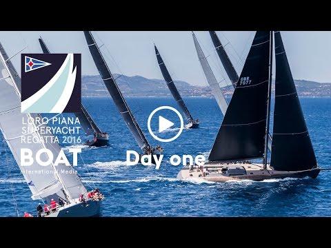 Race Day One at Loro Piana Superyacht Regatta 2016