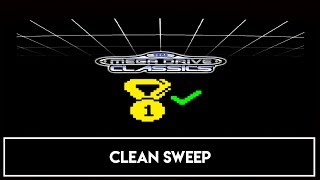 SEGA Mega Drive (Genesis) Classics - Clean Sweep Trophy / Achievement - All Challenges