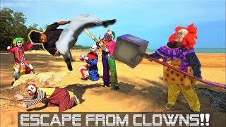 Cover images Parkour Chase - THE CLOWNS ARE BACK!!