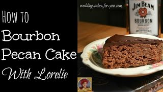 Bourbon Cake With Chocolate And Pecans