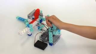 L'apprentissage de la programmation avec un robot - Le robot grappin