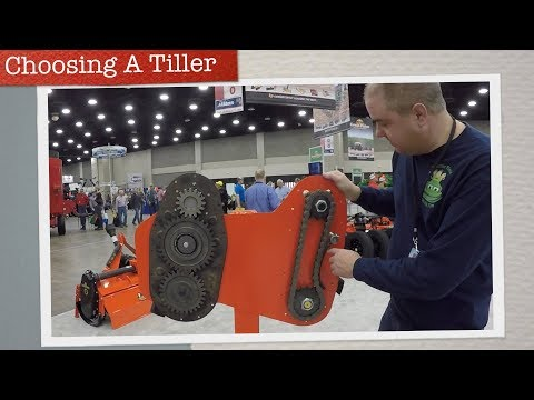 Choosing the Right Tiller For Your Compact Tractor