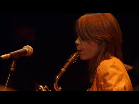 Céline Bonacina trio at 'Like a jazz machine' festival (2014)
