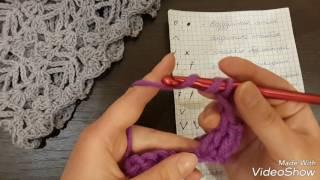 Азы вязания крючком для начинающих.