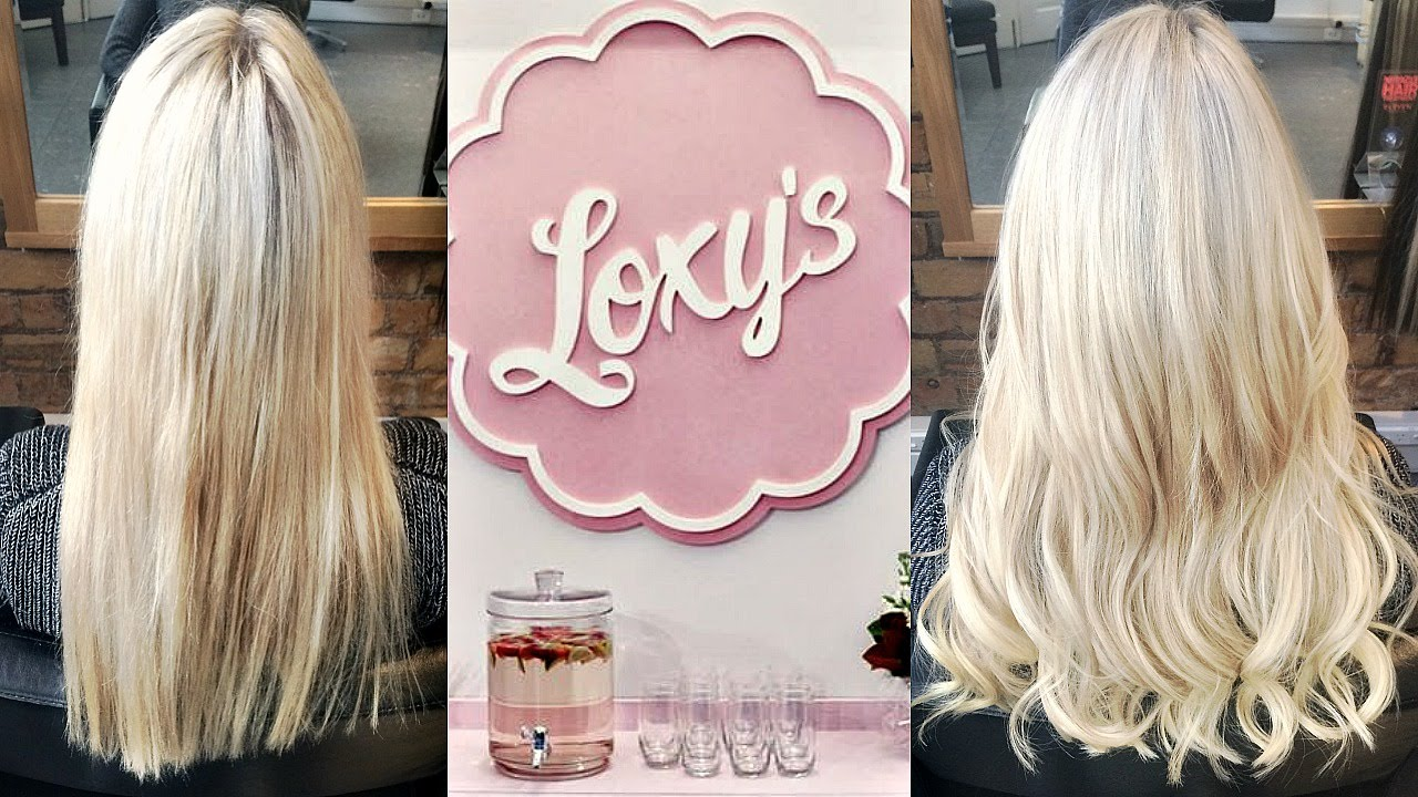 Loxys Hair Extensions Before After Youtube