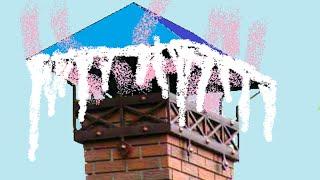 Дымоход оледенение зонта угарный газ в доме(, 2015-12-06T19:17:22.000Z)