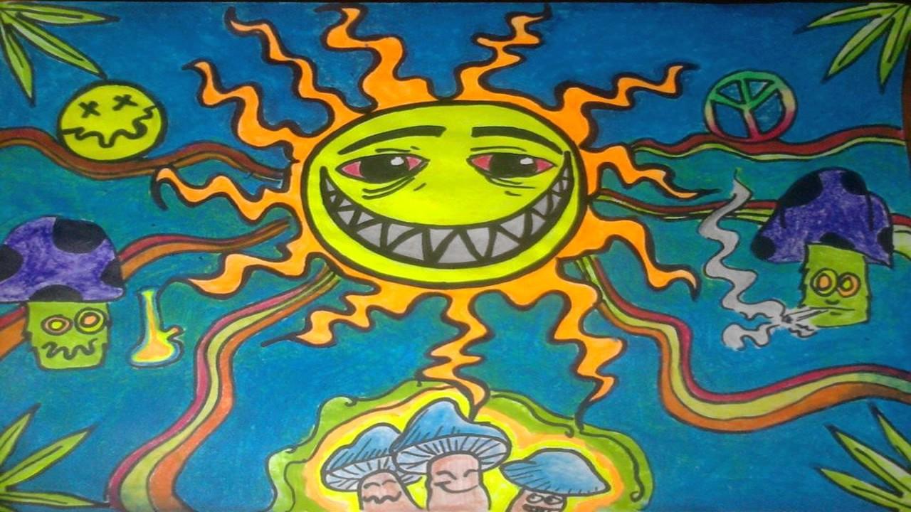 Trippy 420 Drawings