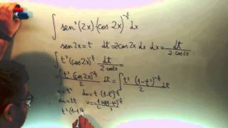 Integral sen3(2x) cos(2x)-3/2 Calculo Ingenieria Telecomunicaciones Academia Usero Estepona