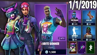 BRITE BOMBER PART 100: 1er janvier New Skins - Daily Fortnite Item Shop